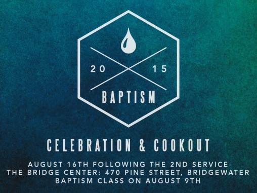 BAPTISM-2015 - Slide